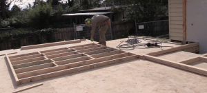 Timber frame wall assembly