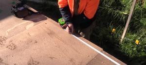 Preparing Sheet Flooring