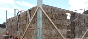 A straw bale house can have a very high energy rating