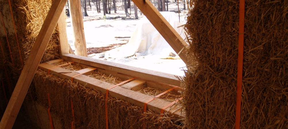 Window Installation Straw Bale House Building Workshop